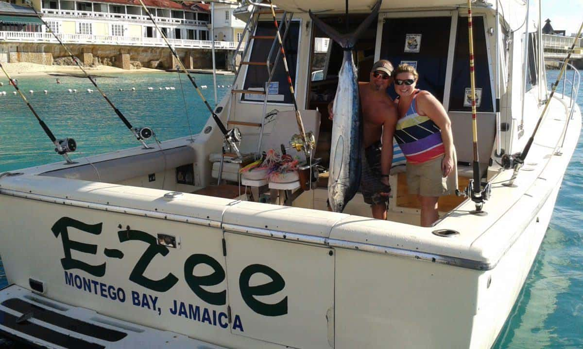 Snl deep sea sport fishing charters from montego bay snl for Sport fishing charters